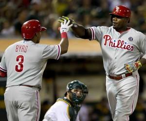 Philadelphia Phillies v Oakland Athletics
