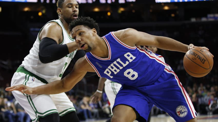 SIXERS' JAHLIL OKAFOR ON TRADE RUMORS: PART OF THE BIZ