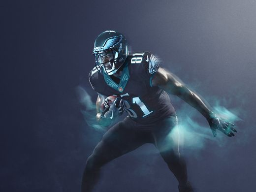 low priced 9d819 ed50c HERE'S THE EAGLES COLOR RUSH UNI FOR GIANTS GAME ON DEC. 22 ...