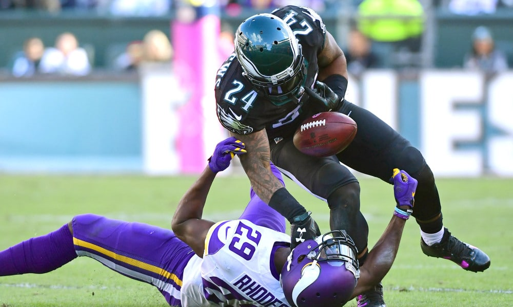 195d976f4 WHEN IN THE WORLD WILL EAGLES GET TIRED OF MATHEWS  FUMBLING