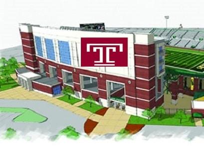 Temple-stadium