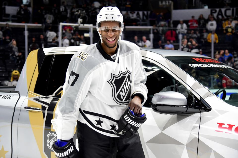 on sale bb67f 766cc GIVE THAT MAN A TRUCK! FLYER SIMMONDS WINS NHL ALL-STAR MVP ...