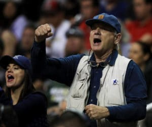 SAN JOSE, CA - MARCH 23:  Actor Bill Murray attends the game between the Arizona Wildcats and the Xavier Musketeers during the 2017 NCAA Men's Basketball Tournament West Regional at SAP Center on March 23, 2017 in San Jose, California.  (Photo by Ezra Shaw/Getty Images)