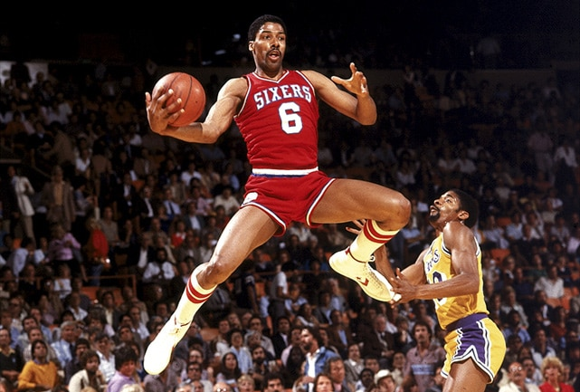 Image result for dr.j sixers