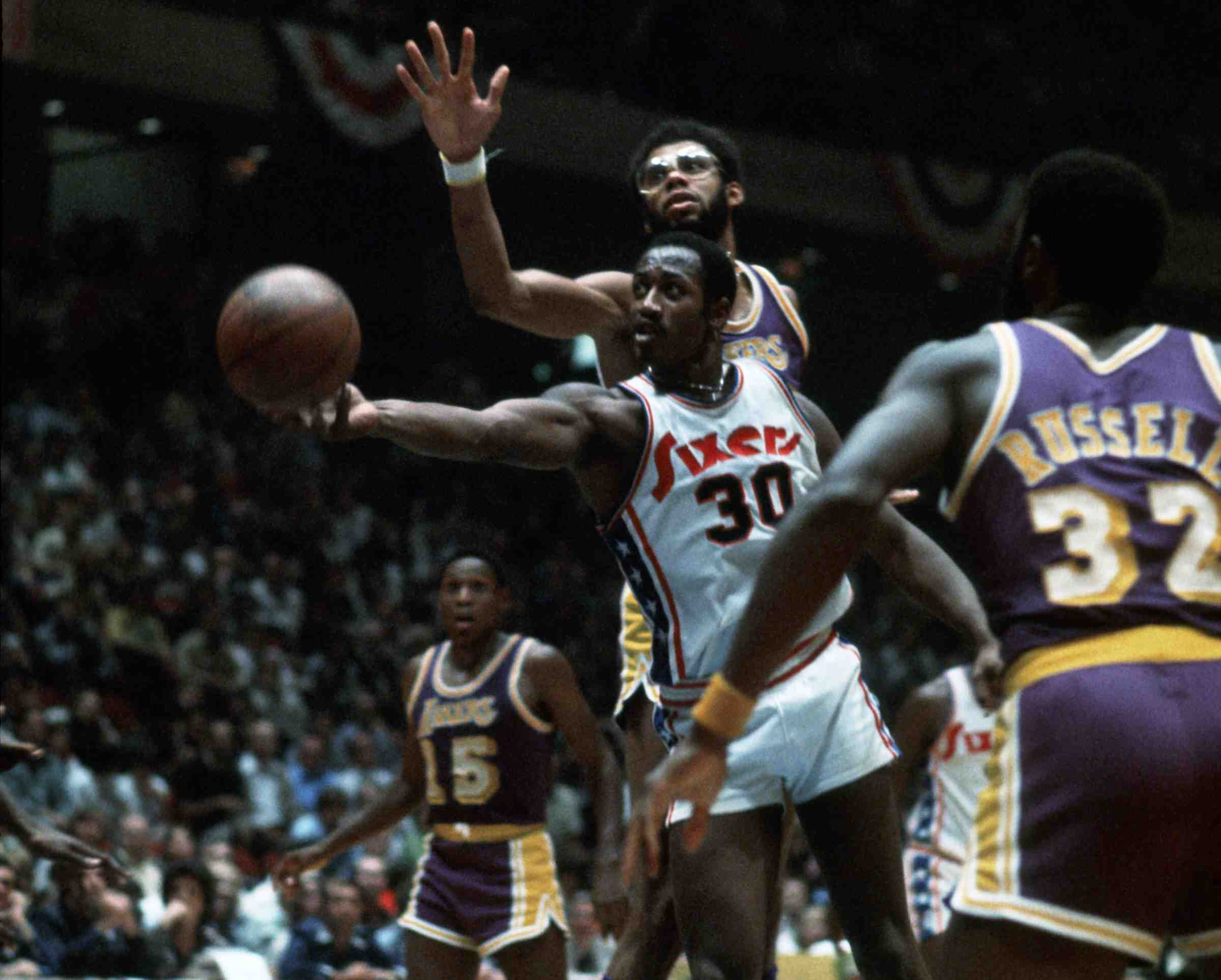 SIXERS GREAT GEORGE MCGINNIS 30 YEAR HALL OF FAME WAIT IS OVER