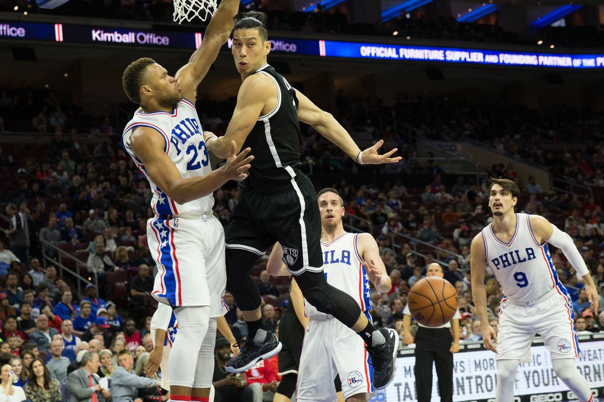 LOWLY NETS SCORE AT WILL IN 141-118 PASTING OF SIXERS! | Fast Philly