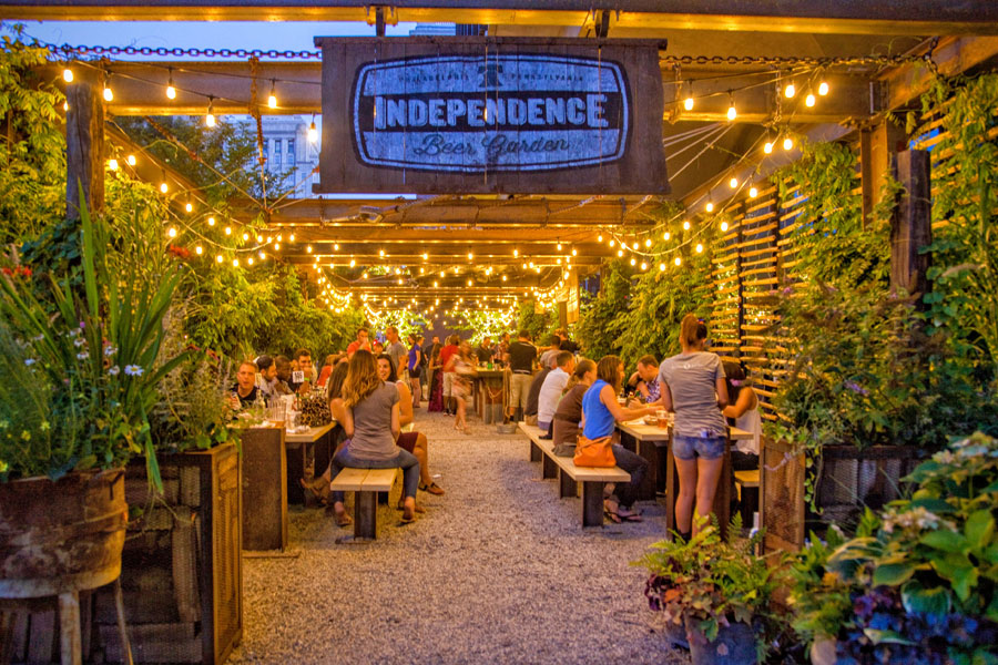 Just In Time For Memorial Day Beer Gardens Are All Over