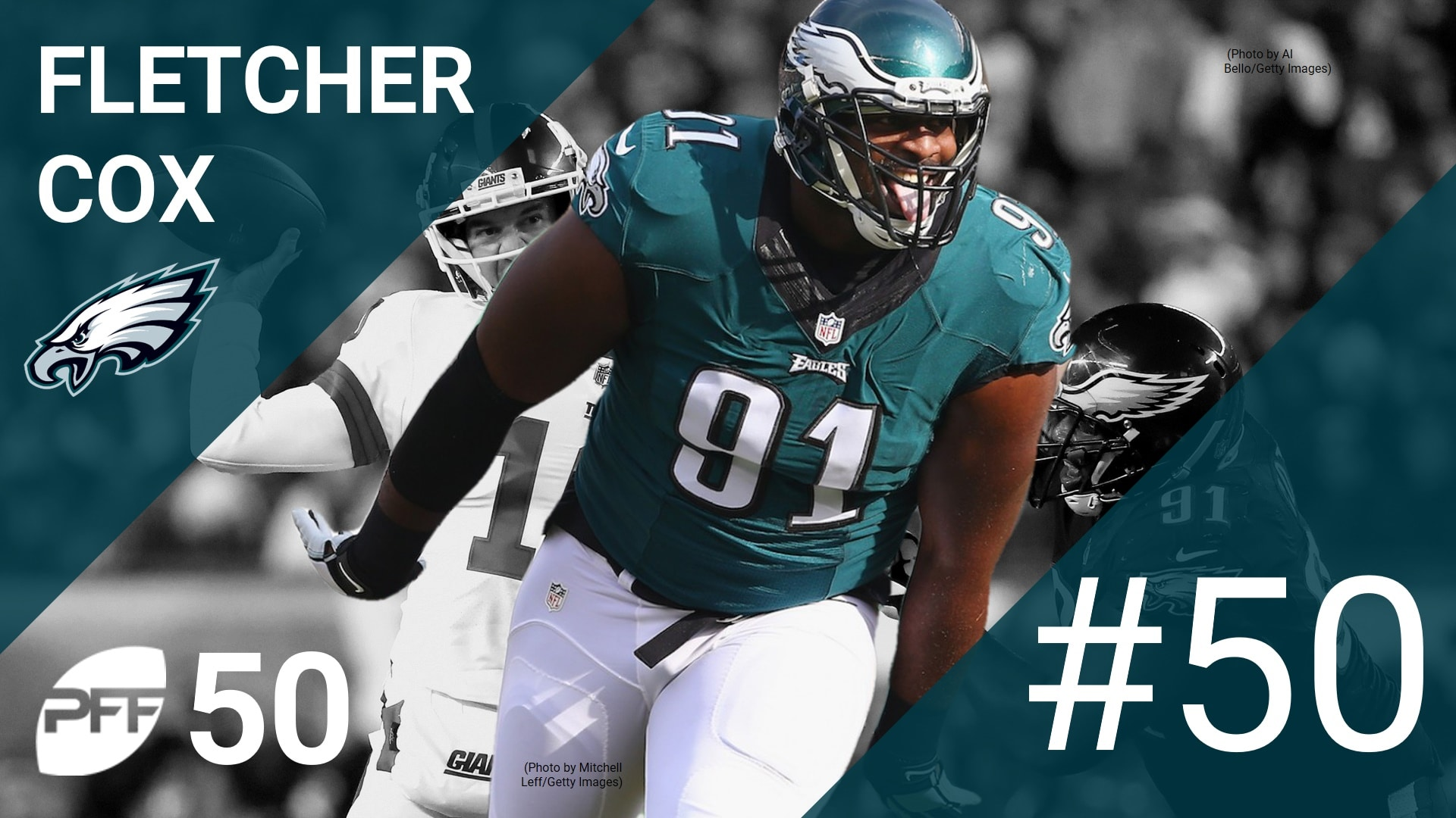 EAGLES D LINEMAN FLETCHER COX IS 50TH BEST PLAYER IN THE NFL