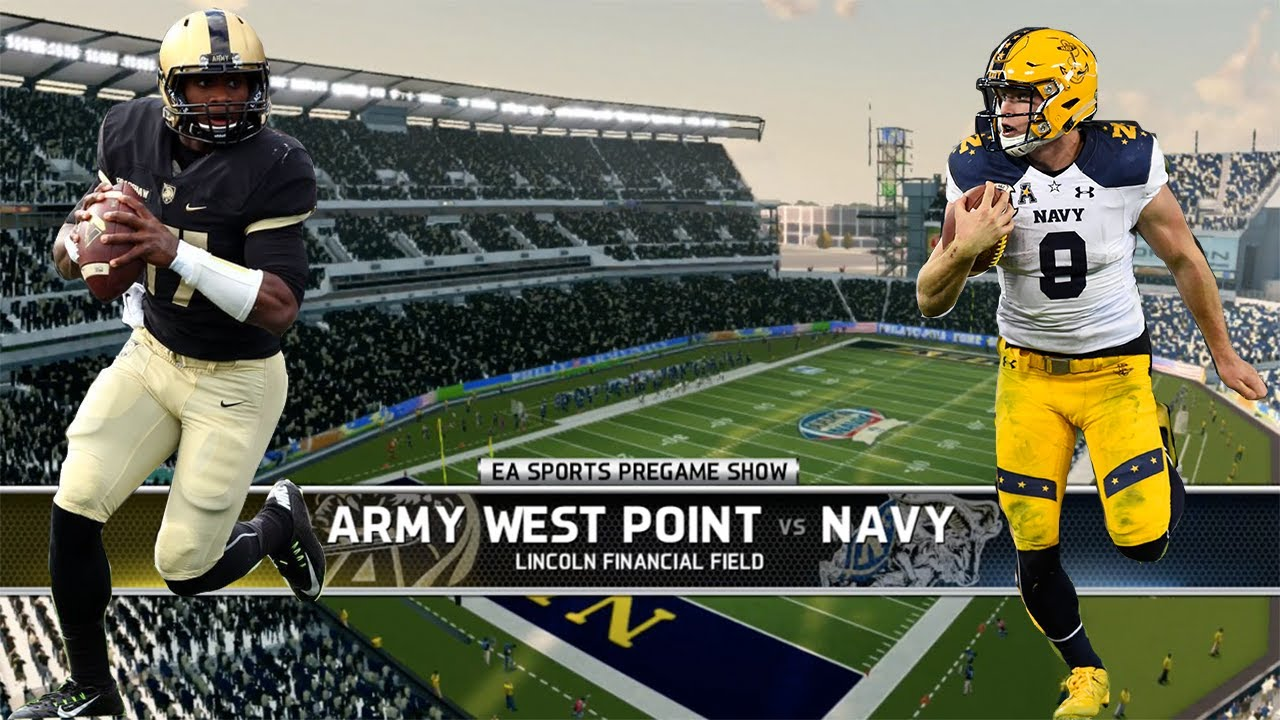 ARMY-NAVY BACK AT THE LINC TOMORROW, JUST AS IT SHOULD BE ...