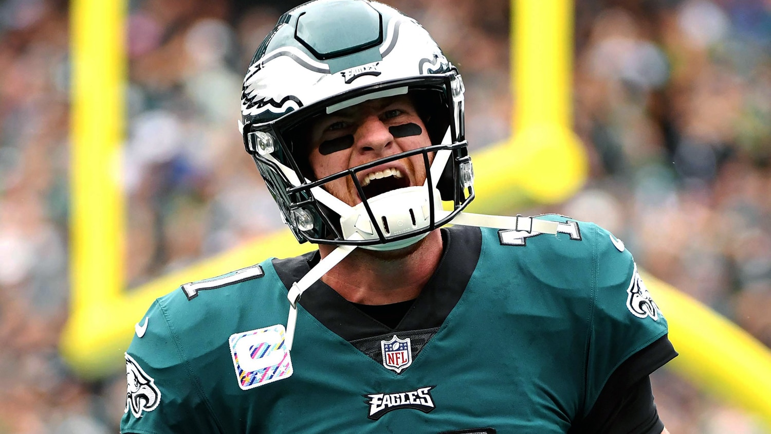 Eagles Kid Carson Wentz Was Top 2017 Nfl Breakout Star Fast