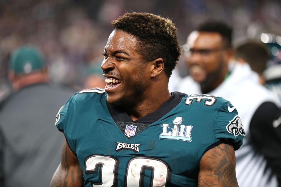 new product feaac 79b11 EAGLES RB COREY CLEMENT WANTS MORE TOUCHES IN 2ND YEAR!