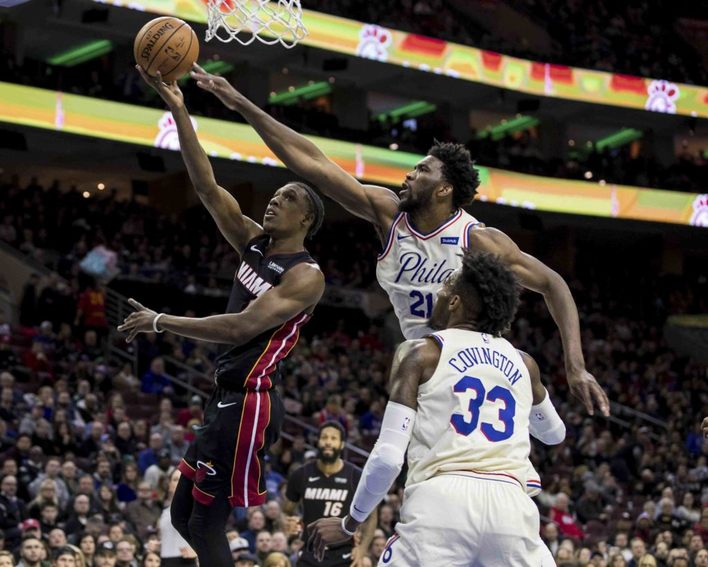 52-30 SIXERS START PLAYOFFS SAT NIGHT AT HOME VS. HEAT