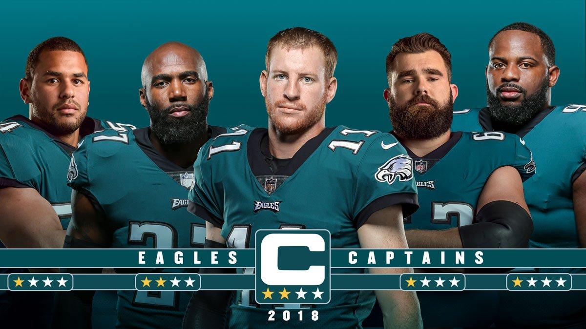 Eagles-captains