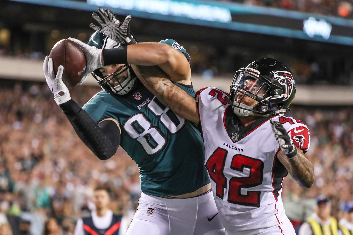 reputable site 7d68c 3dfb2 EVEN EAGLES O-BOSS WANTS TO SEE MORE OF DALLAS GOEDERT ...