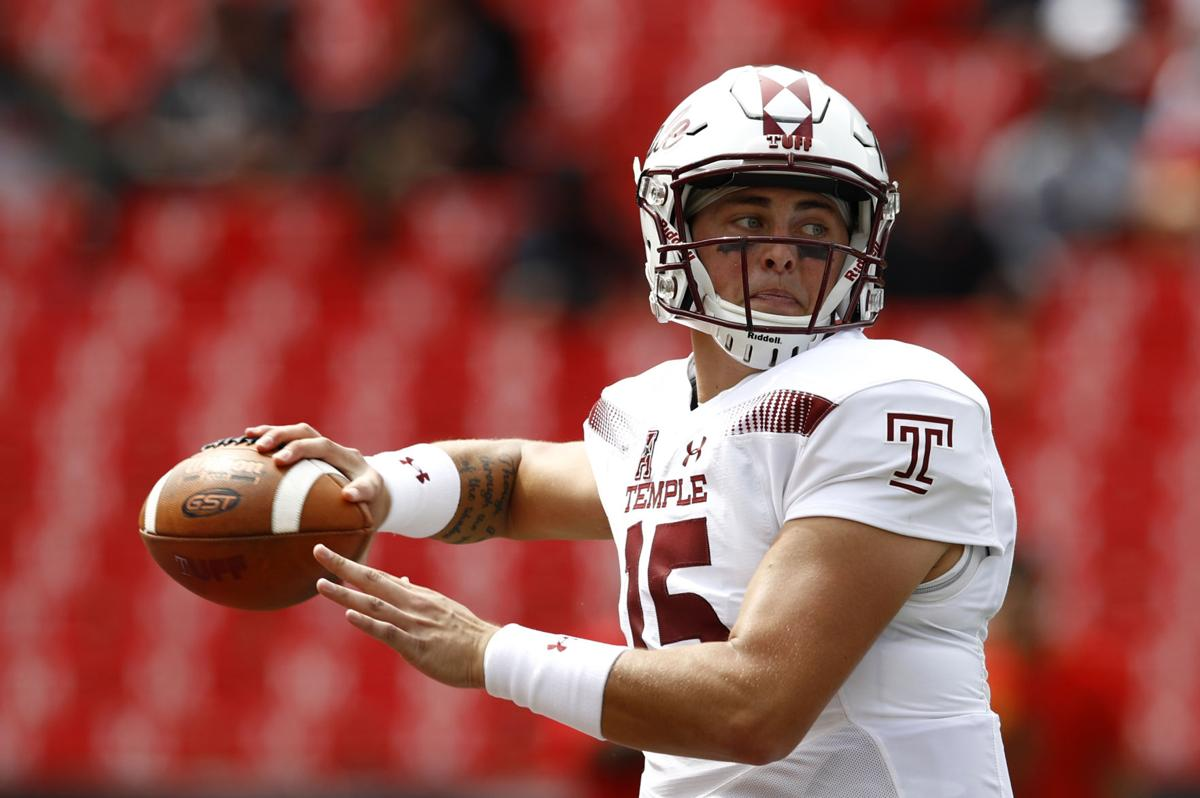 WATCH QB ANTHONY RUSSO AND TEMPLE SPANK BUCKNELL IN OPENER! | Fast ...