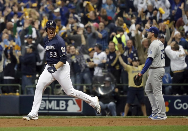 Brewers-dodgers