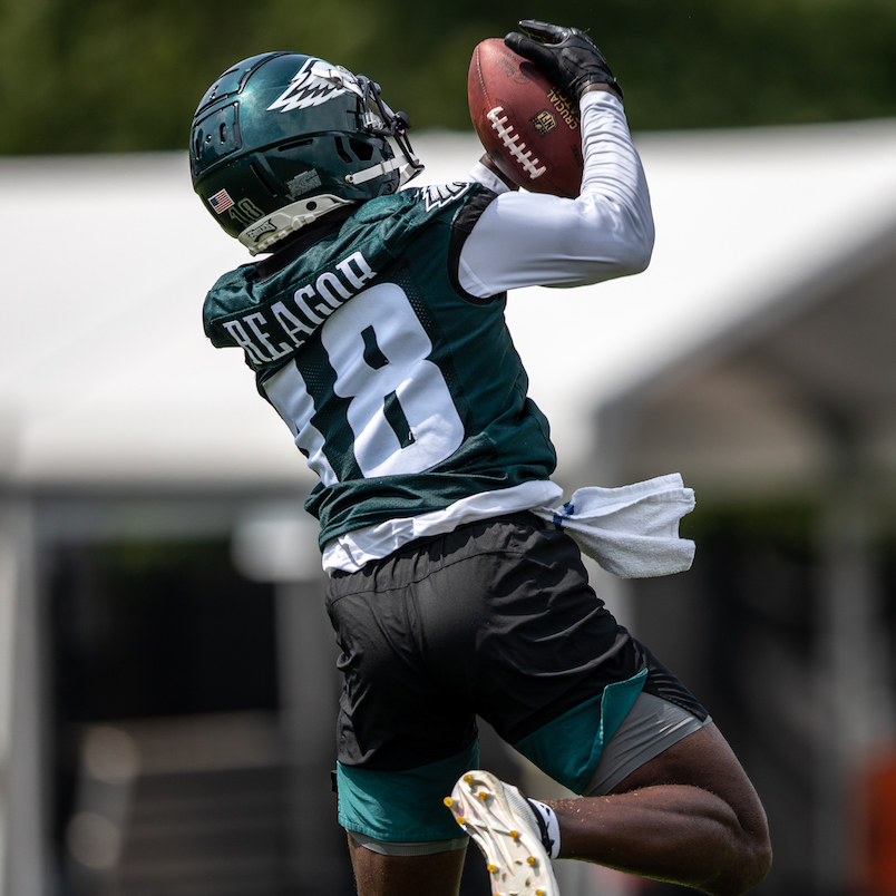 ROOK JALEN REAGOR SURE FILLING THE EAGLES NEED FOR SPEED! | Fast Philly  Sports
